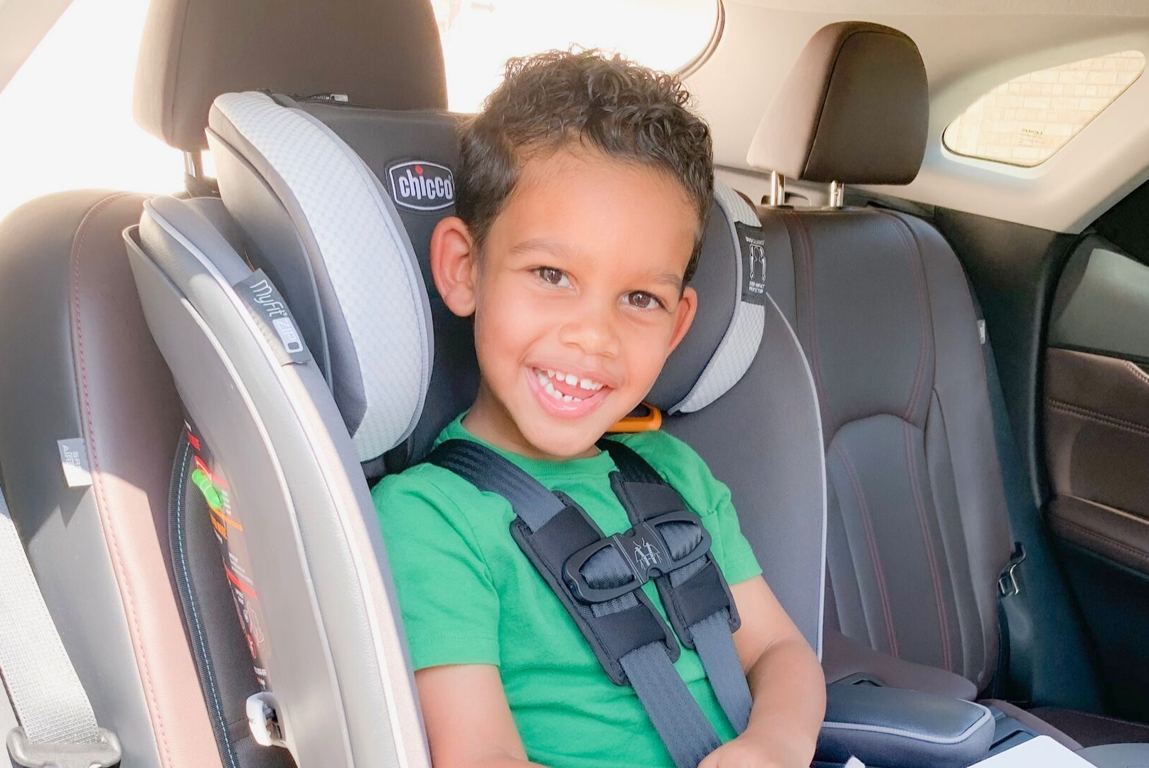 Chicco My Fit Zip Harness Booster Car Seat Review