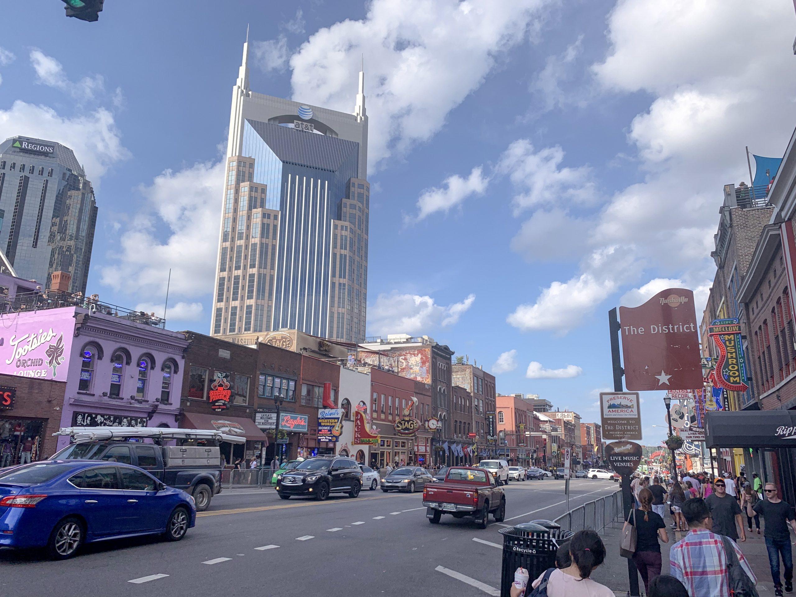 Broadway, Nashville Tennessee, Batman Building Nashville TN