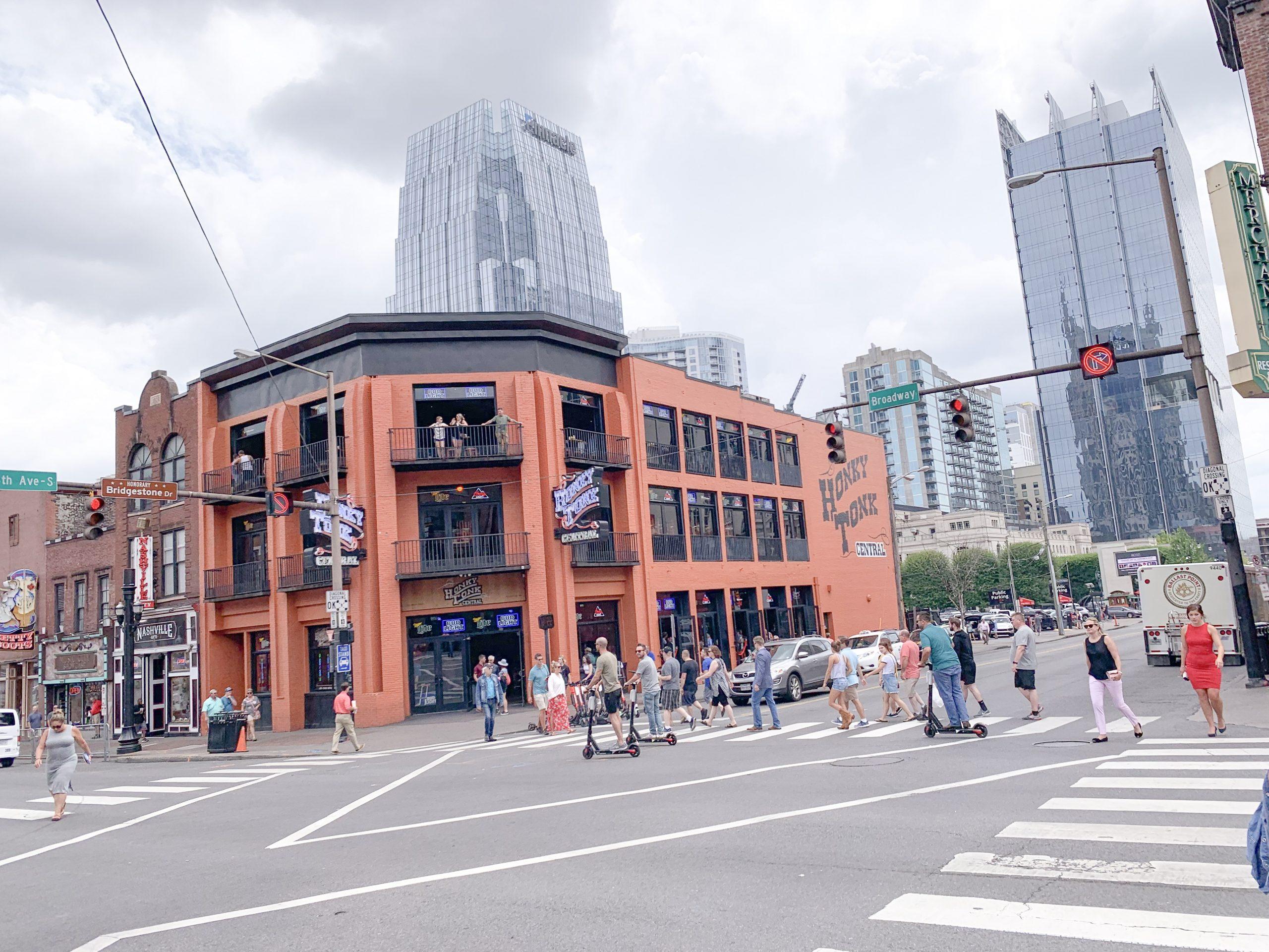 Downtown Nashville, Broadway Nashville TN