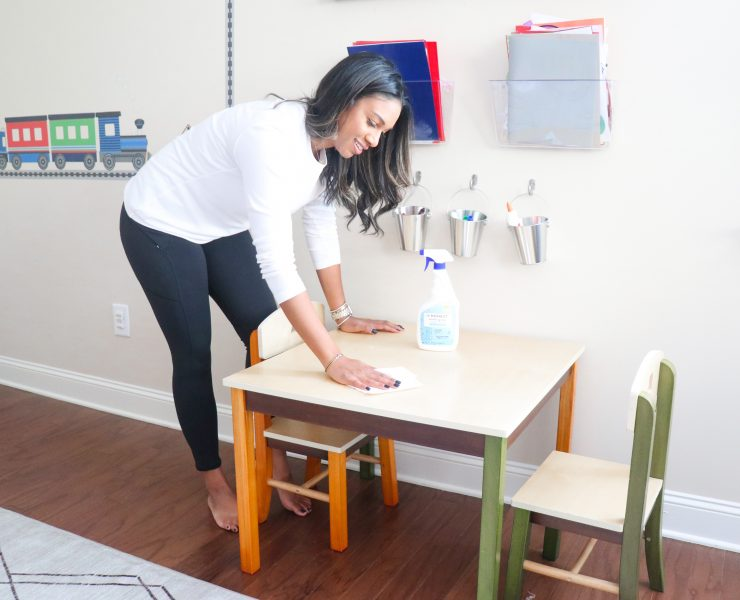 Cleaning Kids Rooms and Playrooms