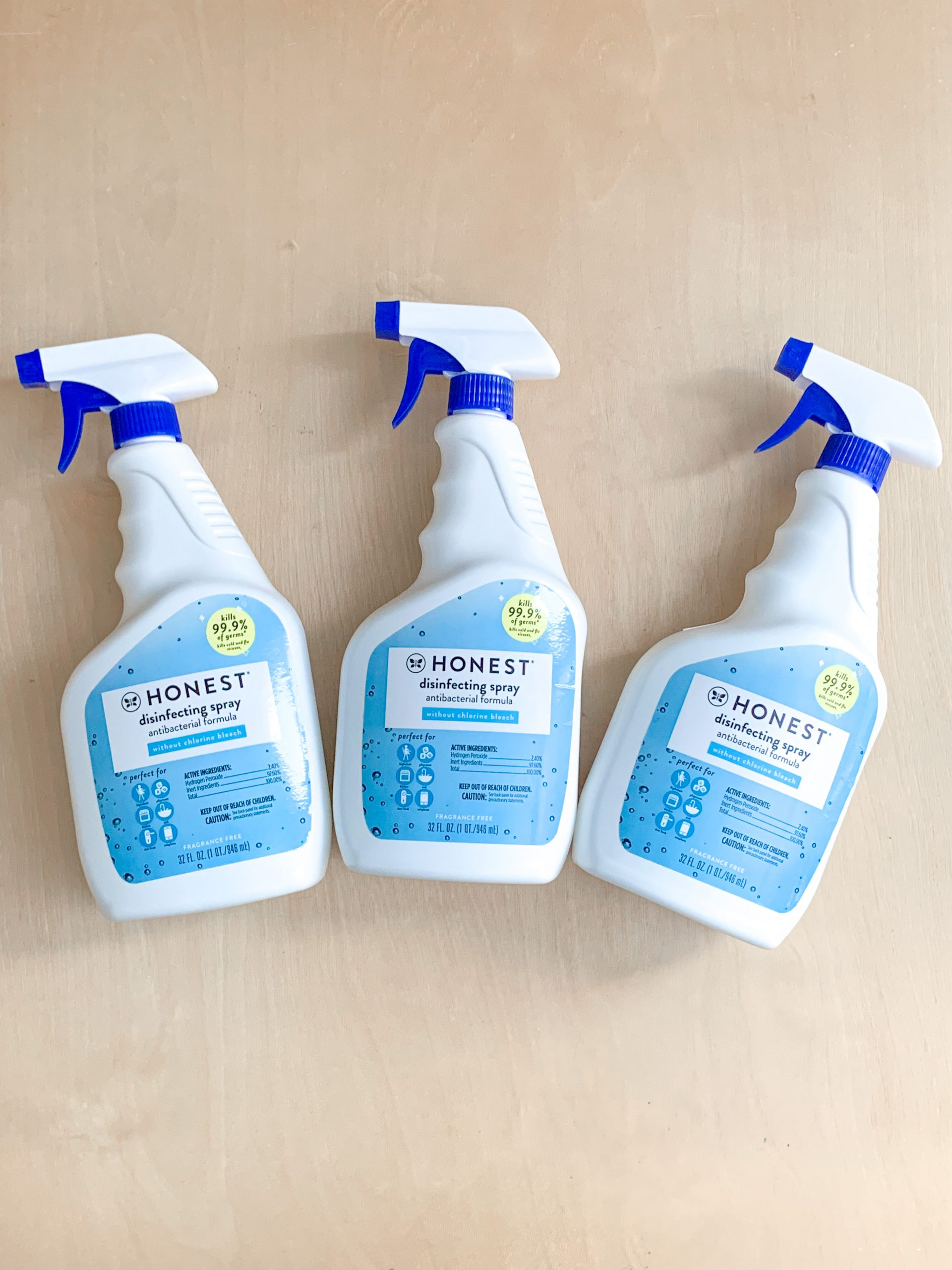 The Honest Company Disinfecting Solution