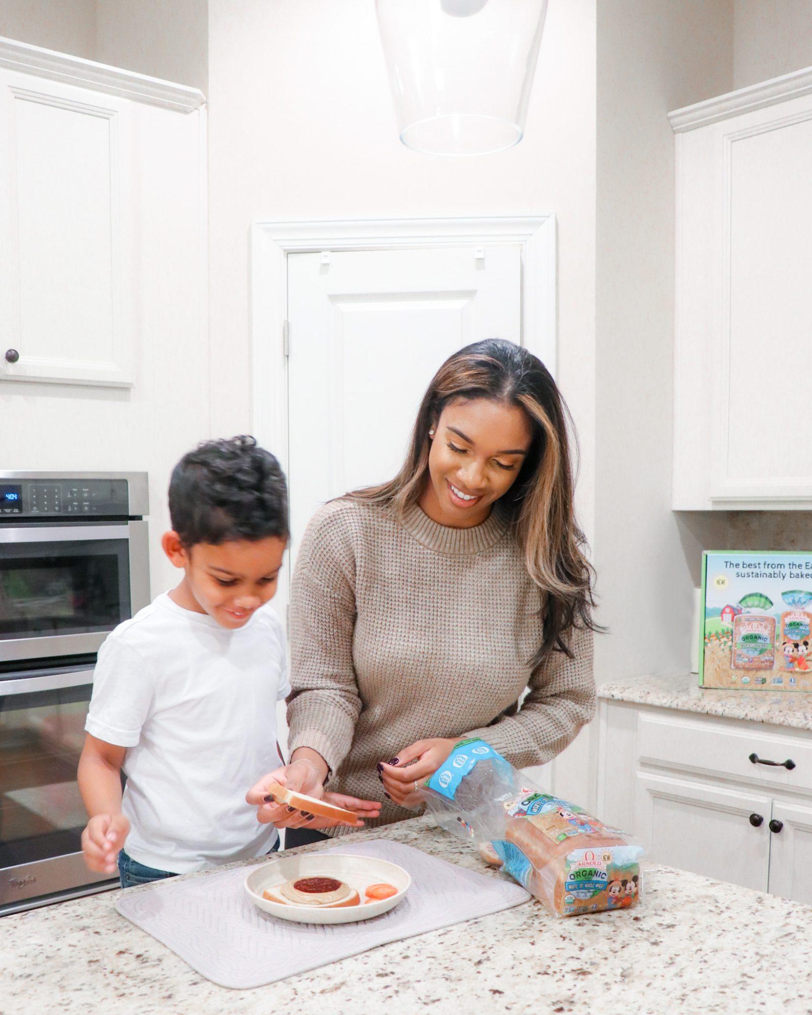Sandwich ideas for kids, Healthier Bread Alternative