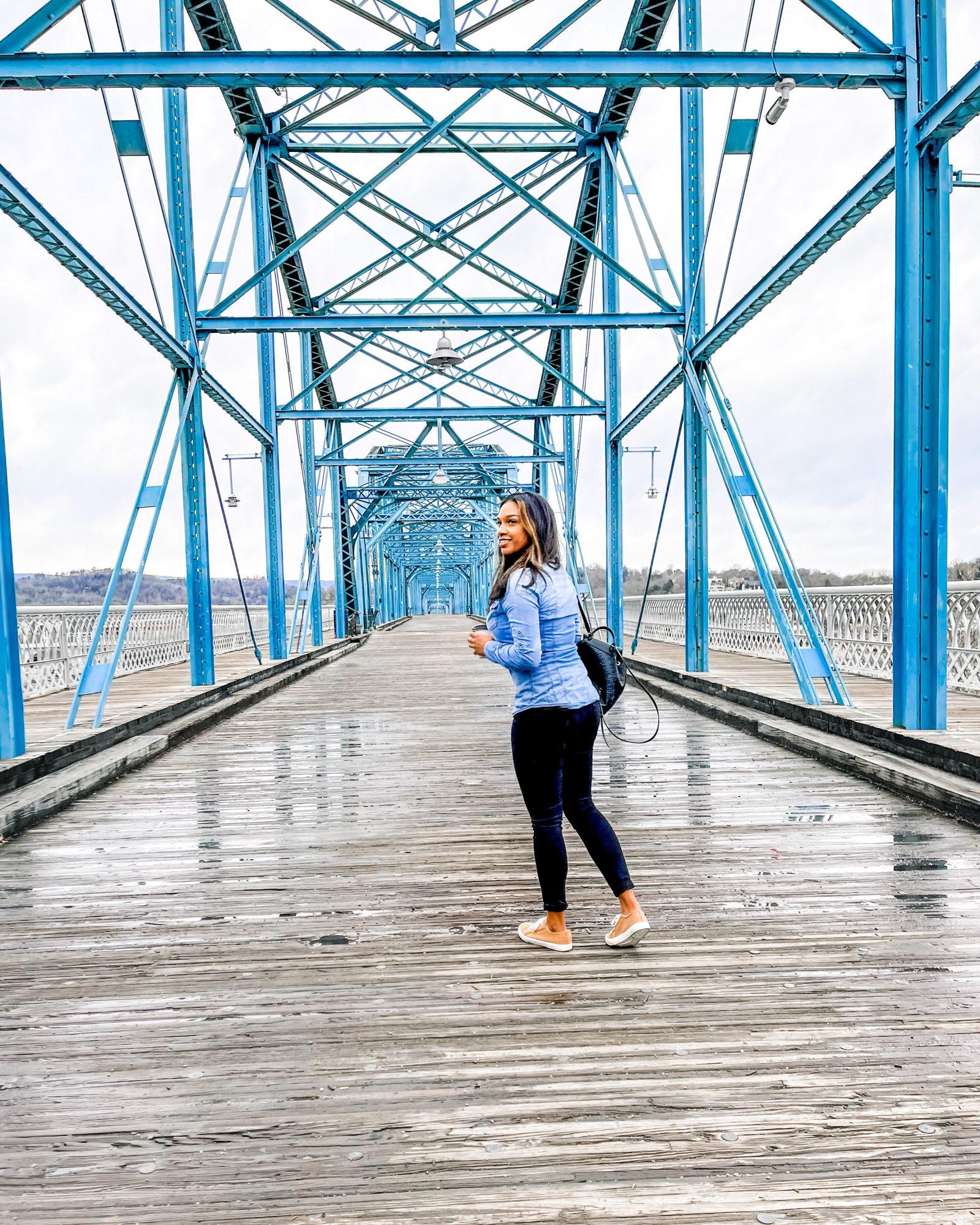 Walnut Street Bridge, Chattanooga TN