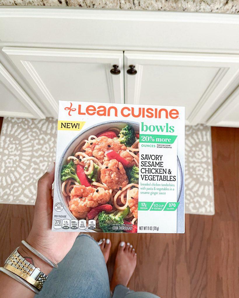 Lean Cuisine Meals / Quick Meals at Home