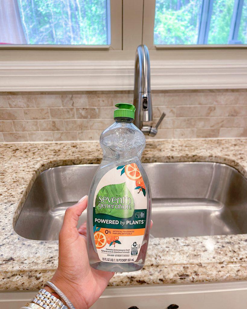 Seventh Generation Dish Washing Liquid.