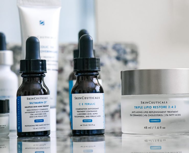 Skinceuticals CE Ferulic Serum Silymarin Serum Triple Lipid Cream