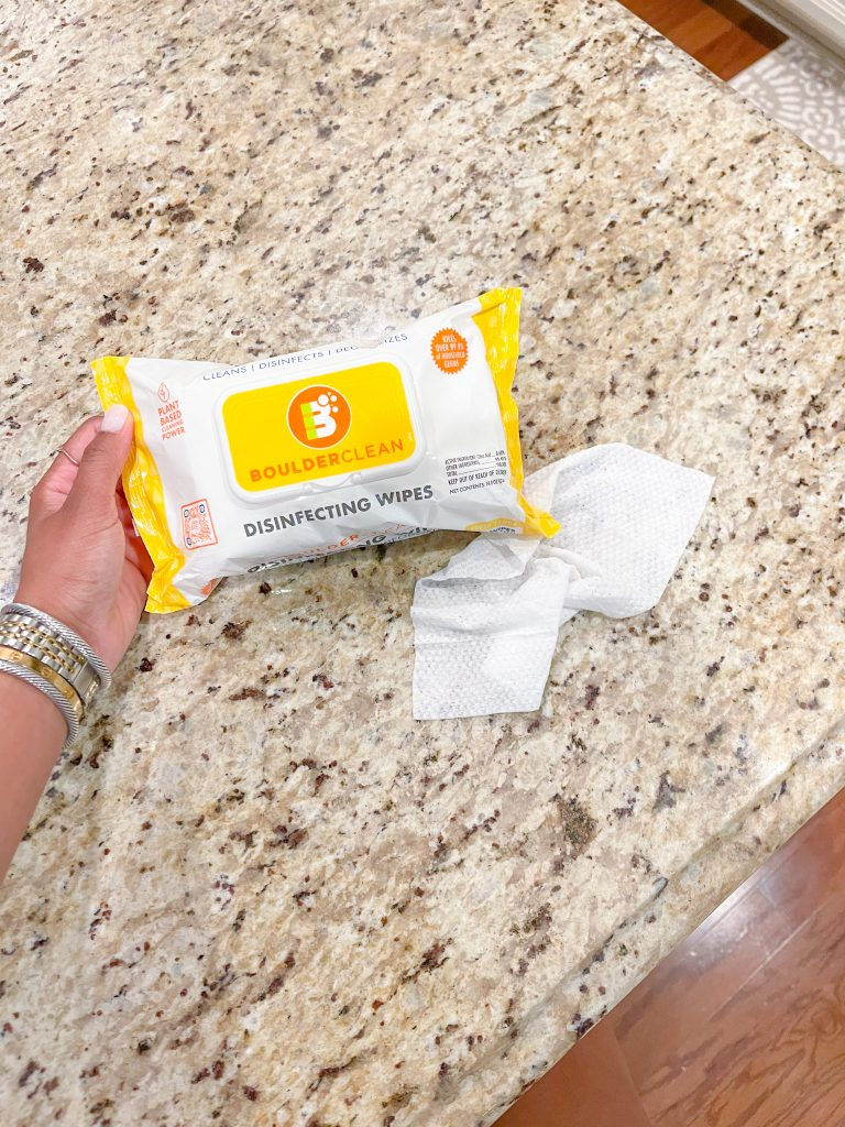 Boulder Clean Disinfecting Wipes