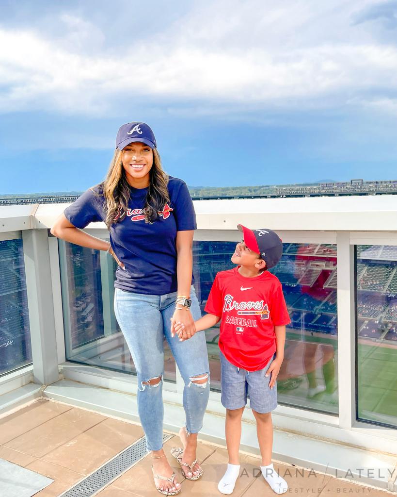 Adriana Lately Atlanta Travel Blogger Omni Luxury Suite with Balcony
