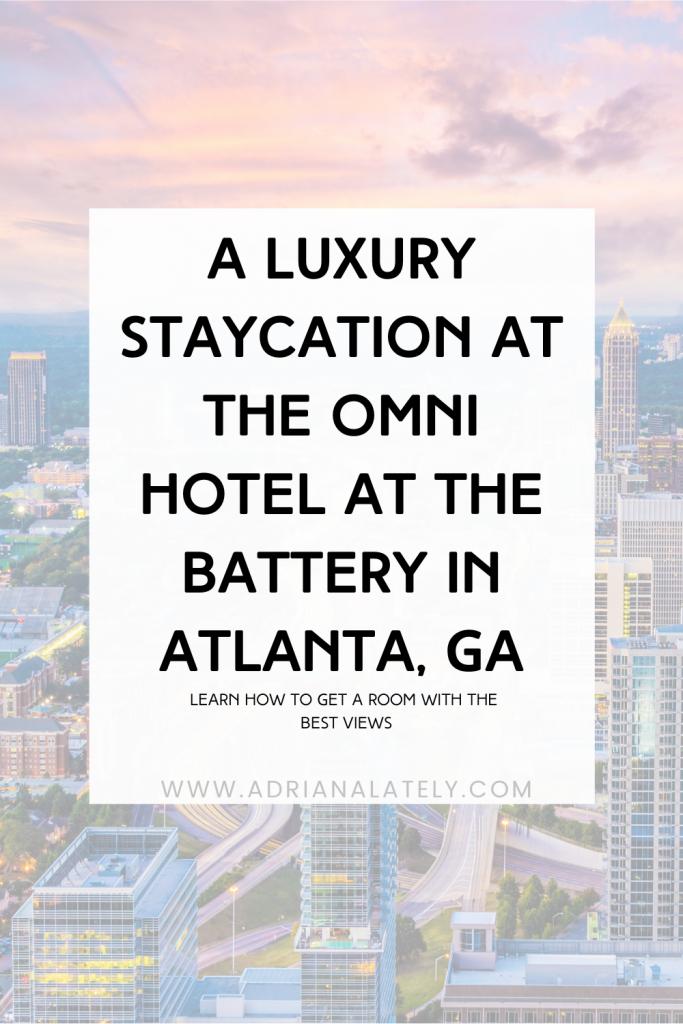 Omni Hotel Atlanta Review, Atlanta Hotels