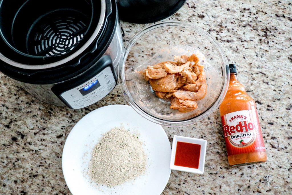 Buffalo Chicken Tenders Recipe Instant Pot