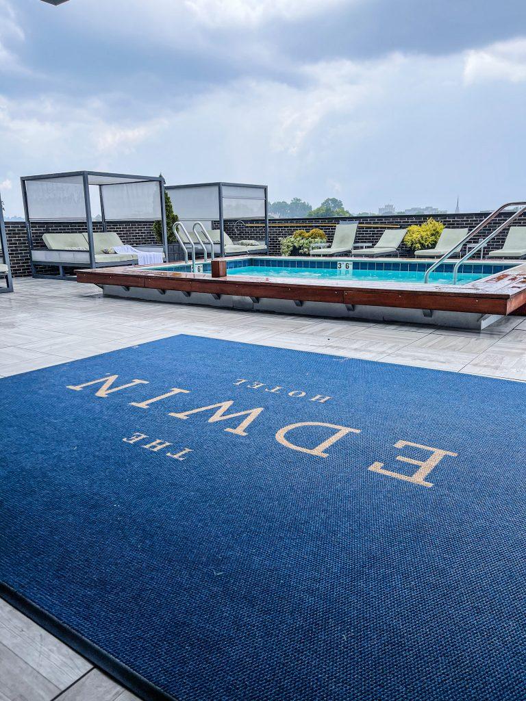 Edwin Hotel Chattanooga Rooftop Pool
