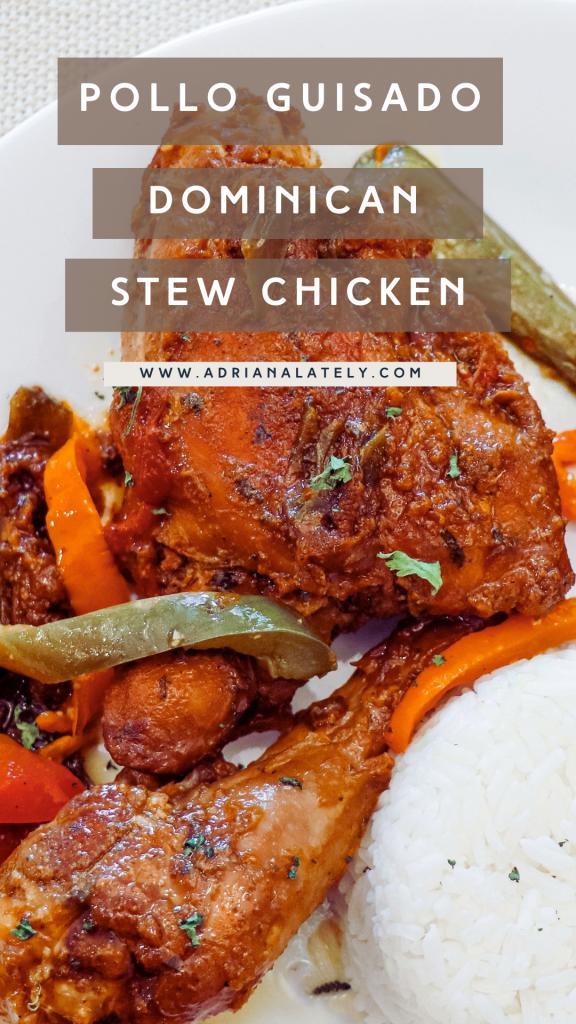Dominican Stew Chicken Pin