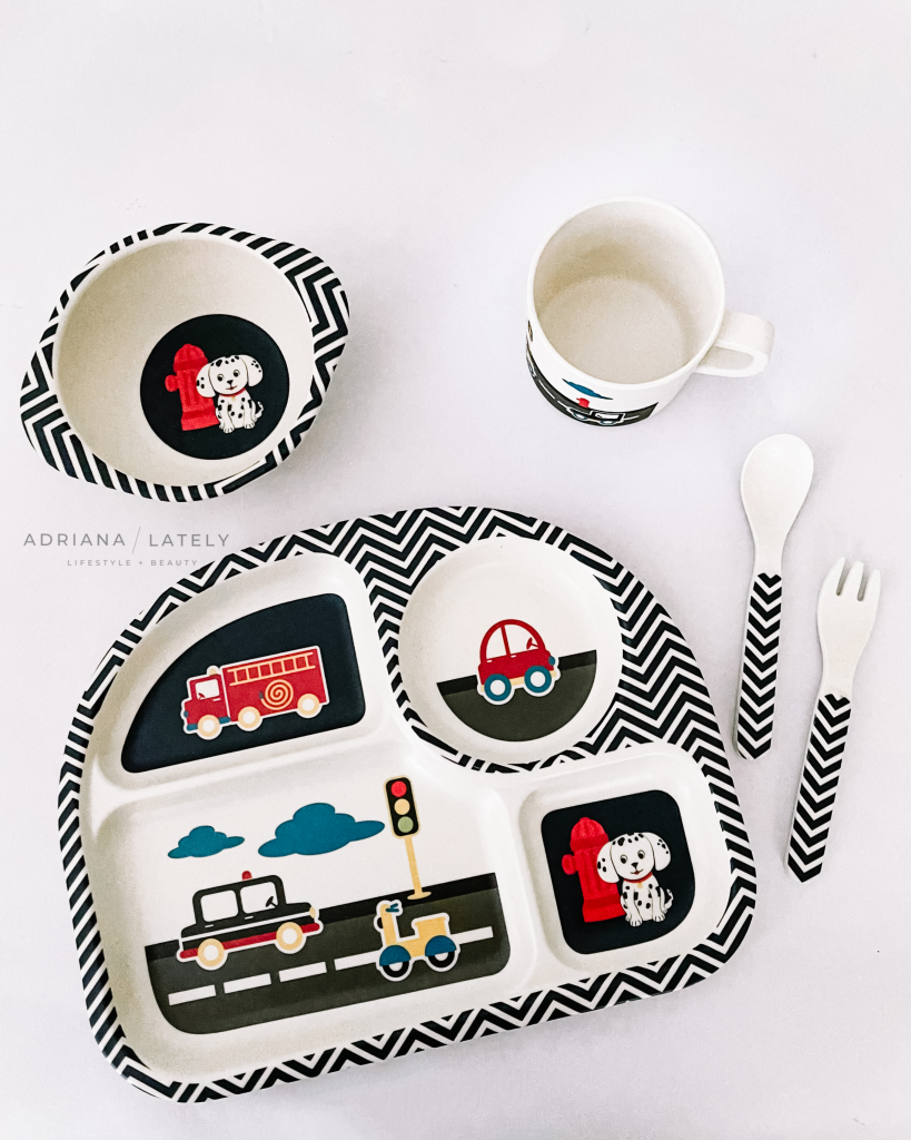 Funkins Bamboo Dish Sets For Kids