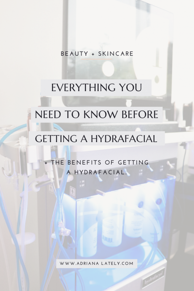 The Benefits of The HydraFacial